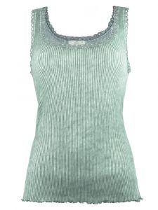 Unterhemd Bio Baumwolle Pure S/L schilfgrün von Madiva Eco Future