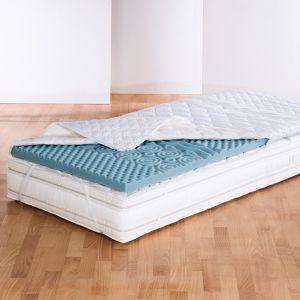 7-Zonen Matratzenauflage Medisan Softly Komfort 5 cm Kaltschaum Topper