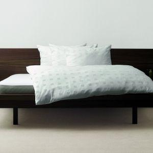 Classic Würfel gewebt Bettwäsche aus Tencel-Lyocell von Hefel elfenbein