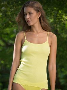 Träger-Top Bio Baumwolle Aria S/S gelb von Madiva Eco Future