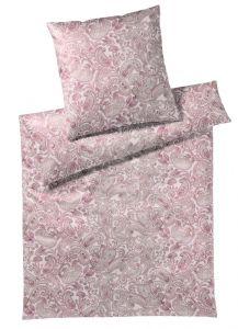 Bio-Baumwolle Bettwäsche Opus Paisley rosé-violett von Elegante GOTS zertifiziert