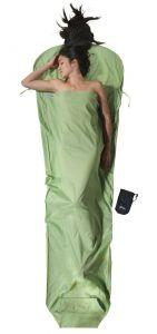 Bio Baumwolle Mummy Liner Organic Cotton grün von Cocoon®