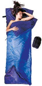 Sommerschlafsack Tropic Traveler Silk in blau von Cocoon