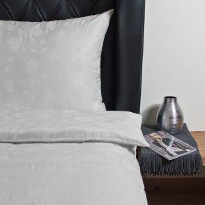 Bettwäsche aus Lyocell Rose Classic elfenbein weiß von HEFEL